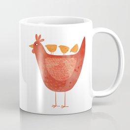 Hen and Chicks Coffee Mug