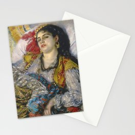 "Auguste Renoir ""Odalisque"" Stationery Cards"