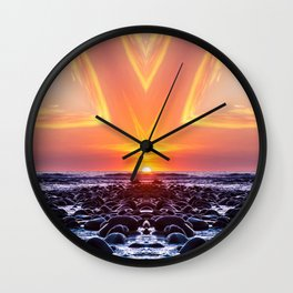 Kaleidoscape: El Tunco Wall Clock