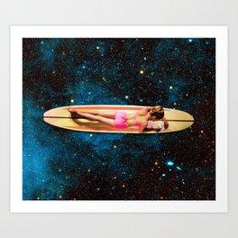 Pleiadian Surfer Kunstdrucke