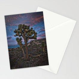 Joshua Tree Alone, Mojave Desert, California Stationery Cards