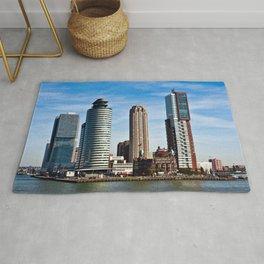 Skyline of Rotterdam Rug
