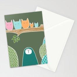Sleepy Birds Stationery Cards