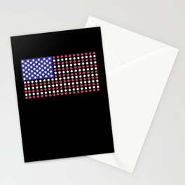 American Flag | Funny Gambling Gift Stationery Cards