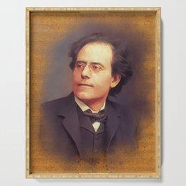 Gustav Mahler, Music Legend Serving Tray