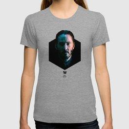 Low poly Keanu Reeves T-shirt