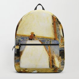 Pierre-Auguste Renoir - The Seine At Argenteuil - Digital Remastered Edition Backpack
