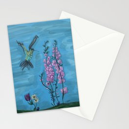 Little hummingbird Stationery Cards