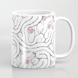 Decker Sleeps, a cat tessellation Coffee Mug