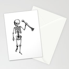 Skeleton of Social Justice Stationery Cards