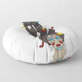 The Voodoo Queen Floor Pillow