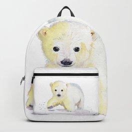 Little Polar Bear Backpack