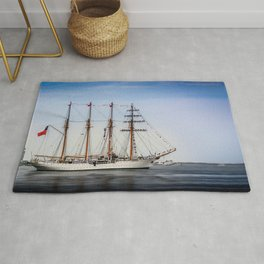 Sail Boston - Chilean Esmeralda. Rug