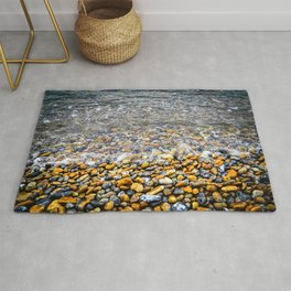 At the water's edge Rug