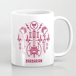 Barbarian Emblem Coffee Mug