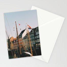 Summer day in Nyhavn, Copenhagen Stationery Cards