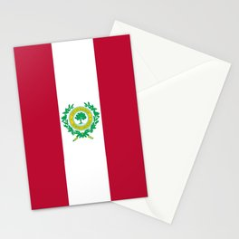 flag of raleigh Stationery Cards