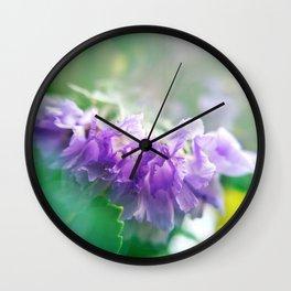 Lavender Light Wall Clock