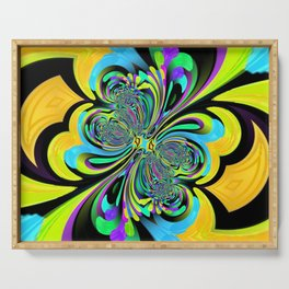 Psychedelic Brights 1 Serving Tray