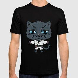 Kawaii Cat in BJJ Uniform T-shirt