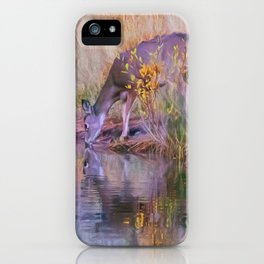 Morning drink iPhone Case