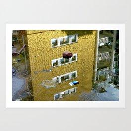 Ripples / Belgrade Art Print