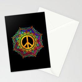 Peace Mandala Stationery Cards