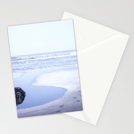 Reality a dreamy beach photo with bokeh Stationery Cards