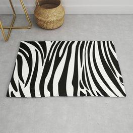 Zebra trendy design artwork animal exotic pattern Rug