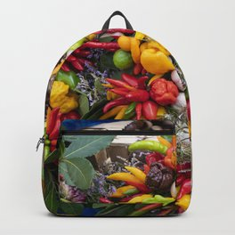 Chilli Bouquets  Backpack