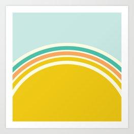 one day –california sunrise Kunstdrucke