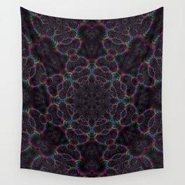 Branching Rainbow Fractal Kaleidoscope 2 Wall Tapestry