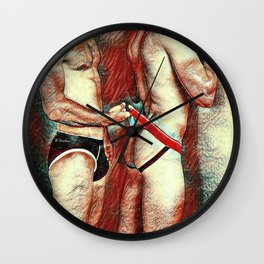 Open for Business Wall Clock
