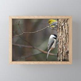 Two Birds Framed Mini Art Print