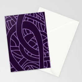 Microcosm in Purple Stationery Cards