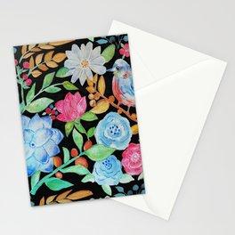 Colores de la naturaleza tropical Stationery Cards