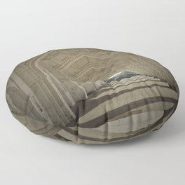 Arched colonnade Floor Pillow