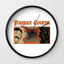 Parquet Wall Clock