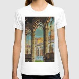 Campo Santo - Interior Courtyard Pisa Landscape by Jeanpaul Ferro T-shirt