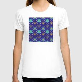Hanukkah Holidays Star of David Contemporary Pattern T-shirt