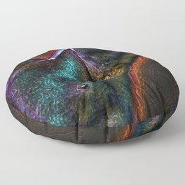 Radioactive Stud Floor Pillow