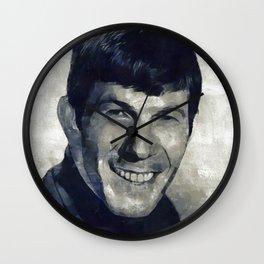 Leonard Nimoy, Actor Wall Clock