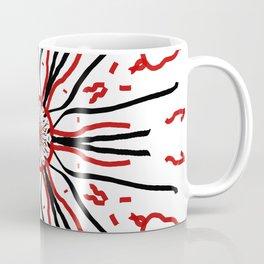 Minimal Abstract Exploding Star Coffee Mug