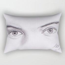 Harry Styles Eyes Rectangular Pillow