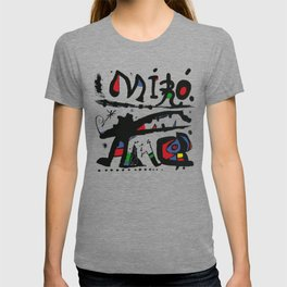 Joan Miro - Eaux Fortes 1983 - Artwork for Wall Art, Prints, Posters, Tshirts, Men, Women, Youth T-shirt