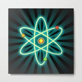 Atom Metal Print