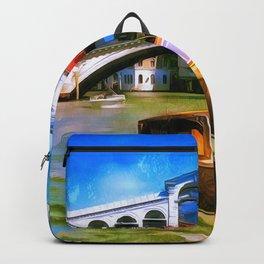Motoscafi Venice Rialto Backpack