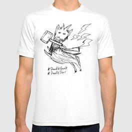DoodleThor, Goat of Thunder T-shirt
