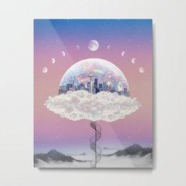 CITY OF PASTEL DREAMS IV Metal Print