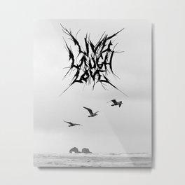 LiveLaughLove_metal Metal Print